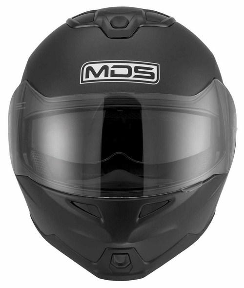 Casco moto modulare Mds by Agv MD200 Mono nero opaco