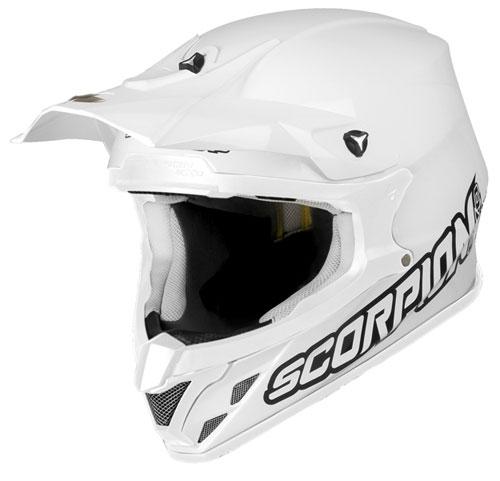 Casco cross Scorpion VX 20 Air Bianco