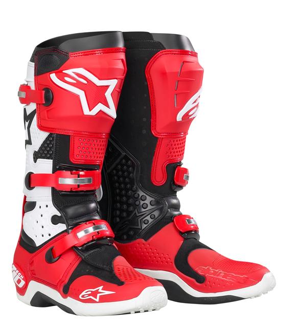 Alpinestars Tech 10 boots - Red