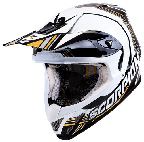 Scorpion VX 20 Air Sport off road helmet Black White