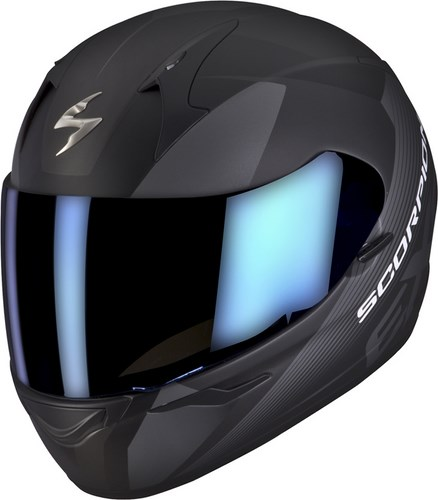 Scorpion Full Face Helmet Exo 410 Slicer Black Grey