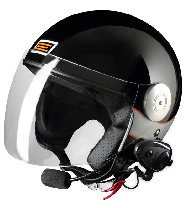 Source jet helmet with intercom Ready Marina Kie