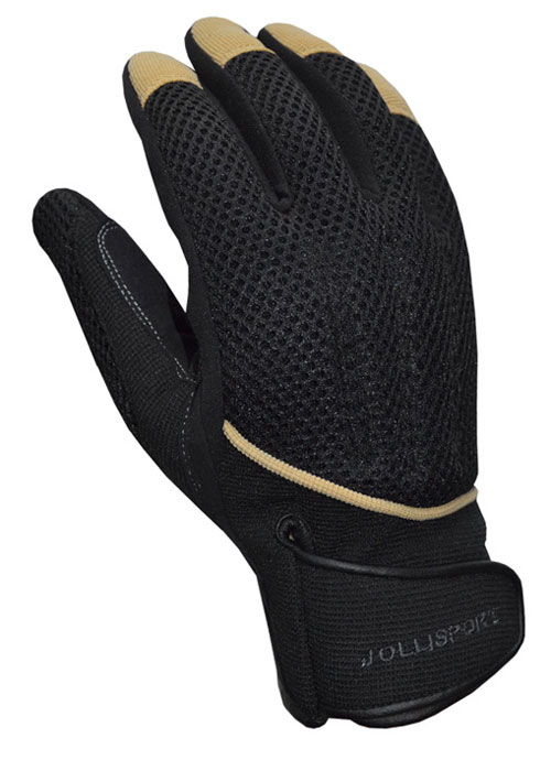 Gloves Summer Surf Jollisport black beige