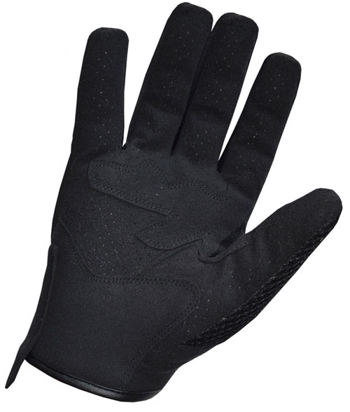 Summer Motorcycle Gloves Jollisport Shorty black