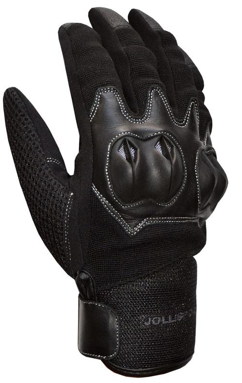 Summer Motorcycle Gloves Black Cat Jollisport