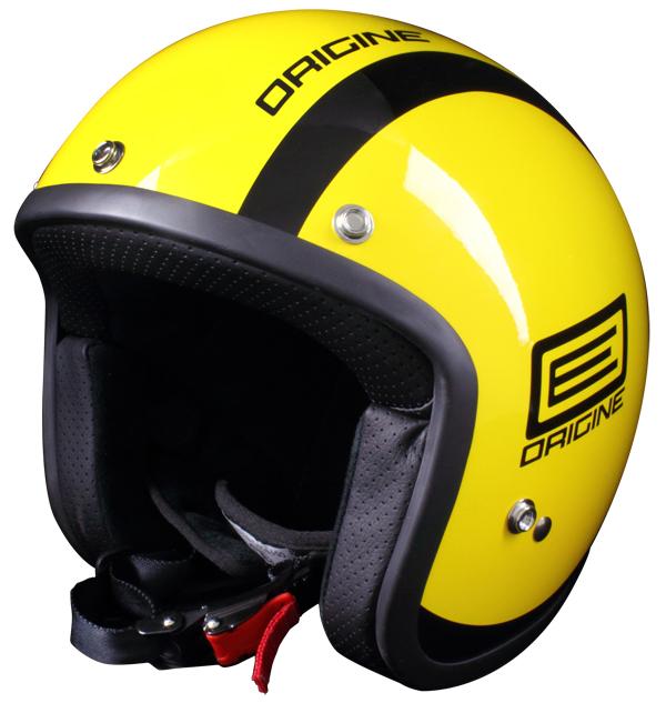 Origine Primo Luna jet helmet Yellow Black