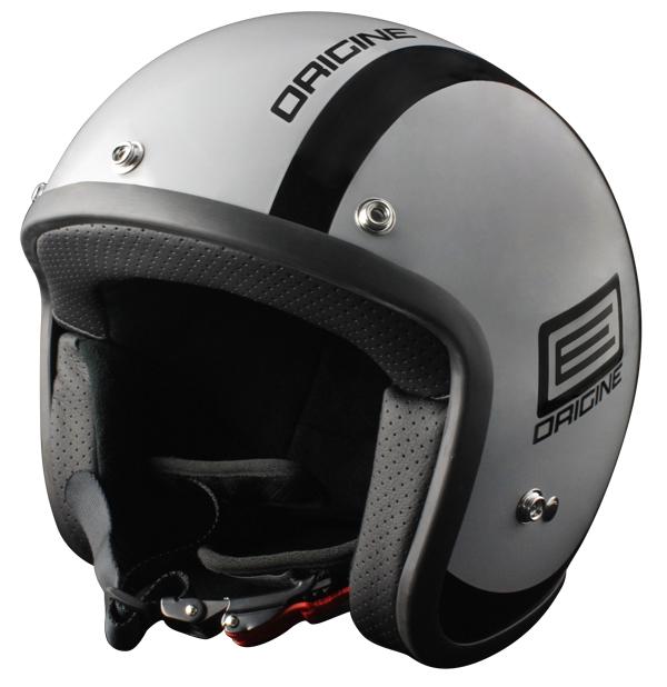 Origine Primo Luna jet helmet Grey Black