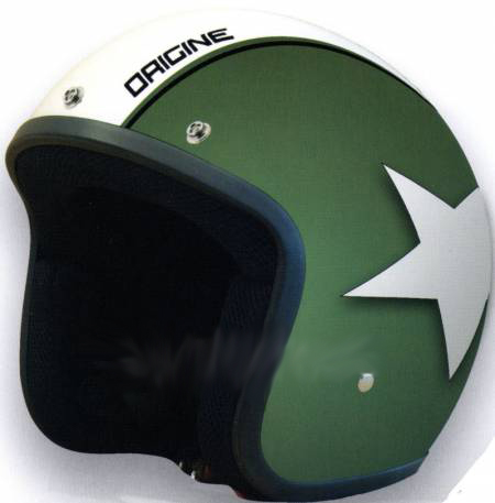 Helmet Origine Primo Astro Verde opaco