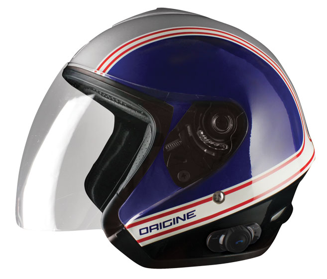 Origin Tornado jet helmet with intercom Joe Blink G2