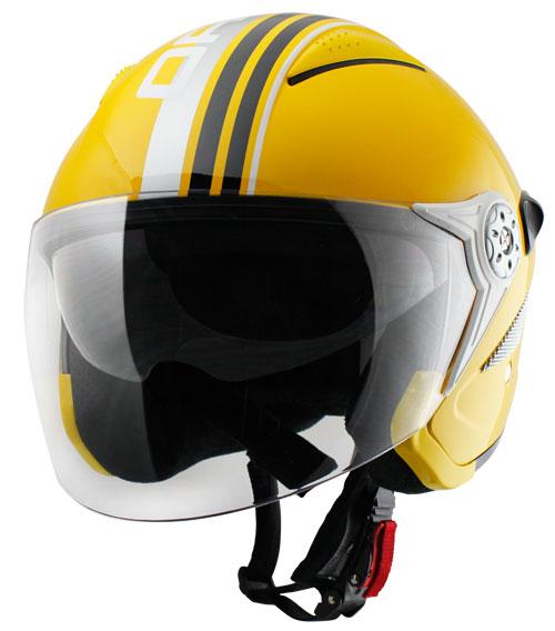 Origine Falco Brera Jet Helmet Yellow