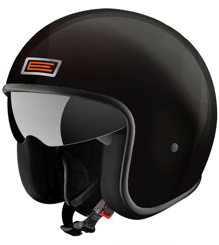 Casco jet Origine Sprint Nero lucido