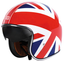 Origine Sprint Union Jack Jet Helmet