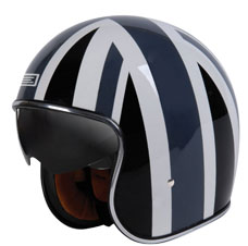 Origine Sprint Grey Union Jack Jet Helmet