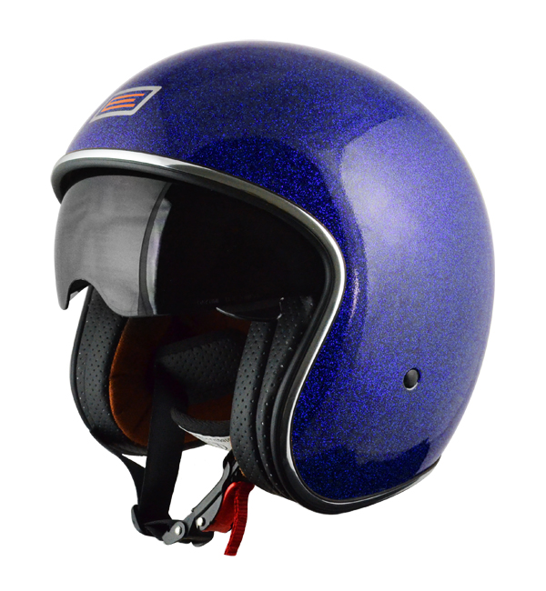 Casco jet Origine Sprint Blueberry