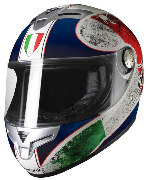 Origine Golia Italia Full Face Helmet Blue