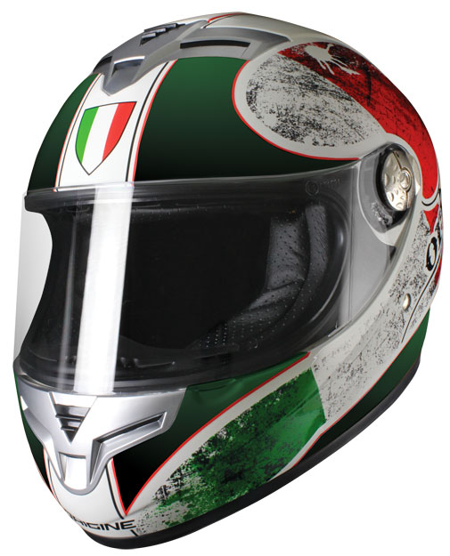Origine Golia Italia Full face helmet Green