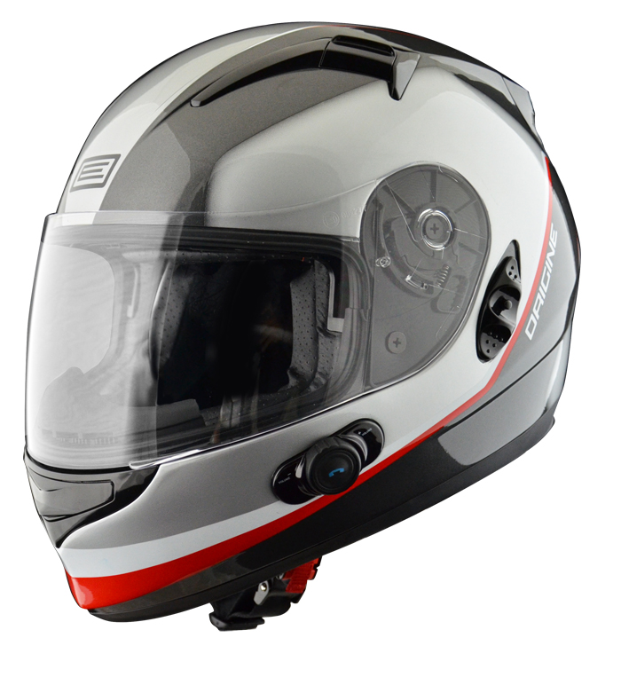 Casco integrale Origine Vento 2 Desert con interfono Blinc G2 Gr