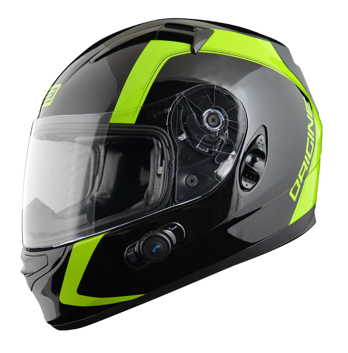 Full face helmet with intercom Origin Wind 2 spline Blinc G2 Ve