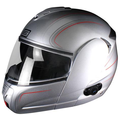 Quicksilver Techno Source Modular helmet with intercom Blinc G2