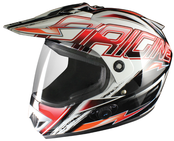 Casco enduro Origine Gladiatore Spark con interfono Blinc G2