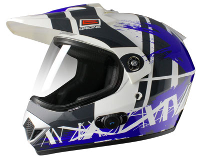 Origine Gladiatore Dakar Enduro Helmet intecom Blinc G2 Blue