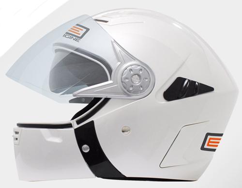 Casco moto modulare Origine RAPIDO ment. staccabile BiancoPerl