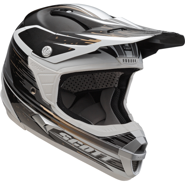 Cross helmet Scott Airborne Grid Grey Black