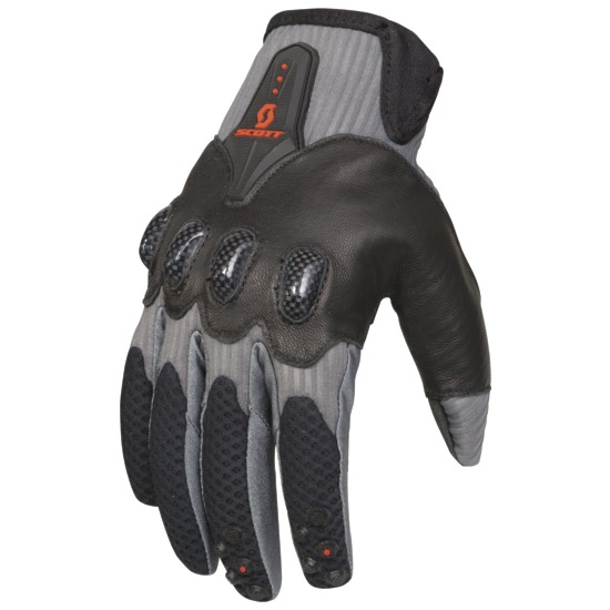 Gloves cross Scott Assault Grey Black