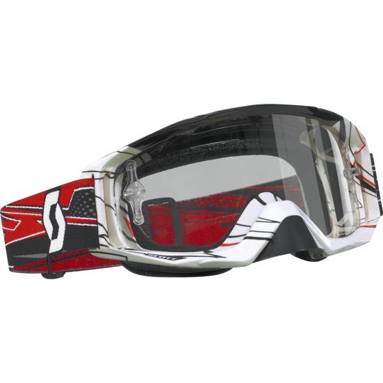 Scott Tyrant MX off road goggles Black-Red