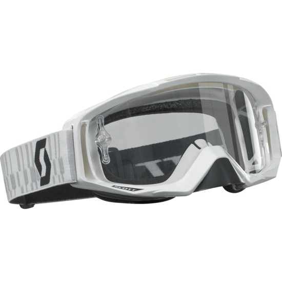 Scott Tyrant off road goggles White