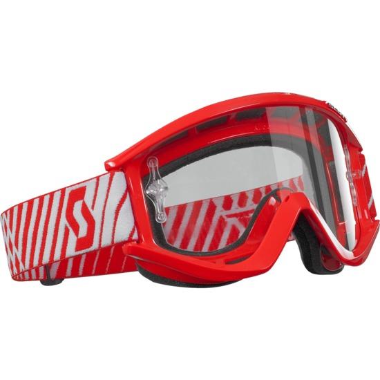 Scott RecoilXi Pro off road goggles Red