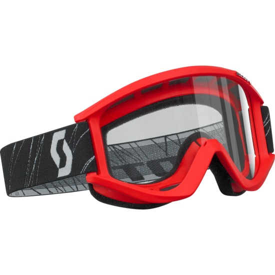 Scott RecoilXi off road goggles Red