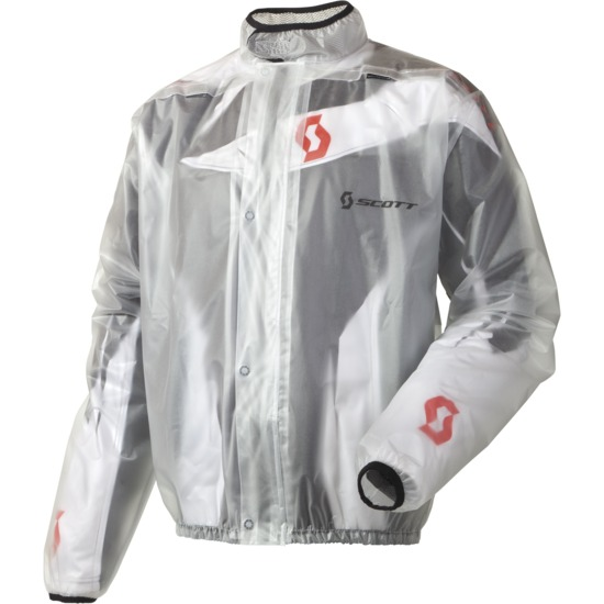 Scott Transparent Rain Jacket Rain Coat