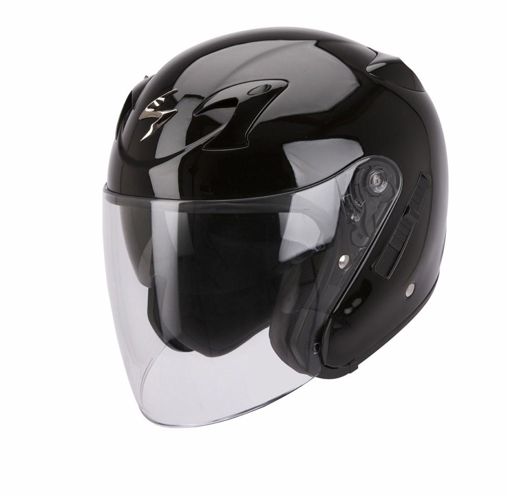 Scorpion Exo 220 Solid jet helmet black