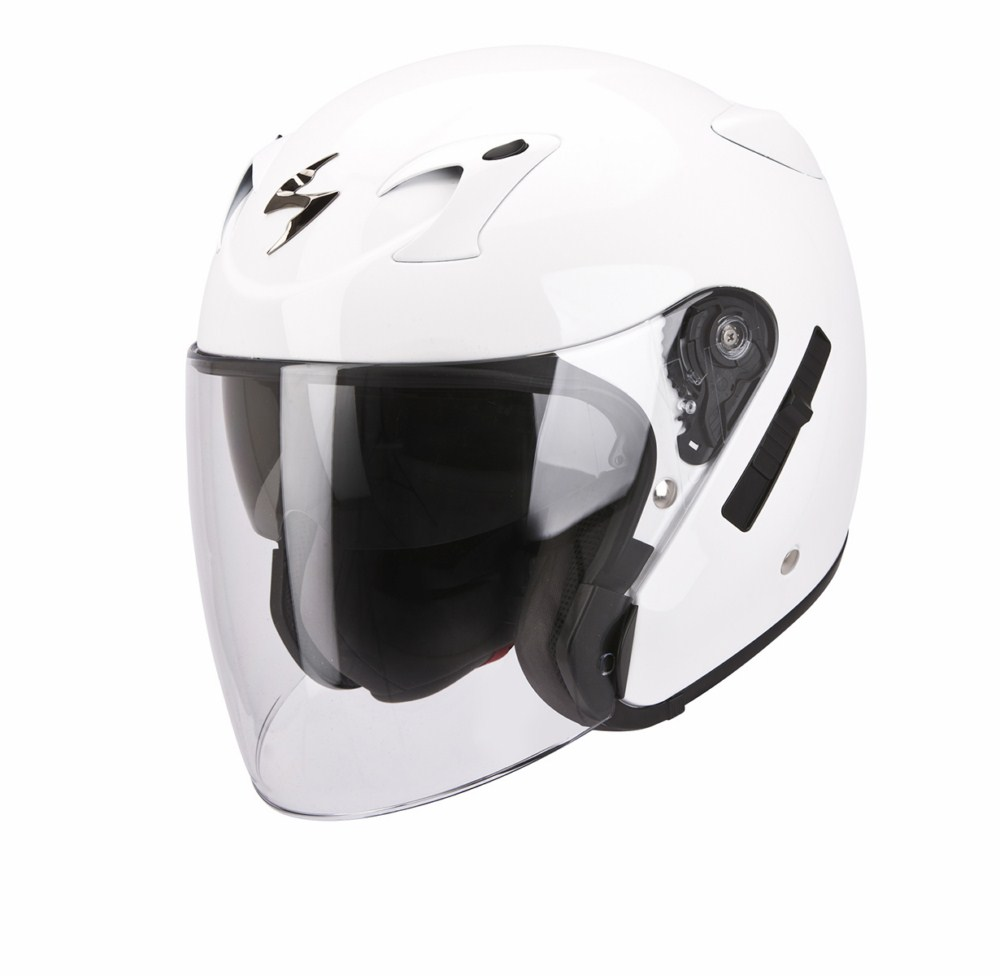 Scorpion Exo 220 Solid jet helmet white