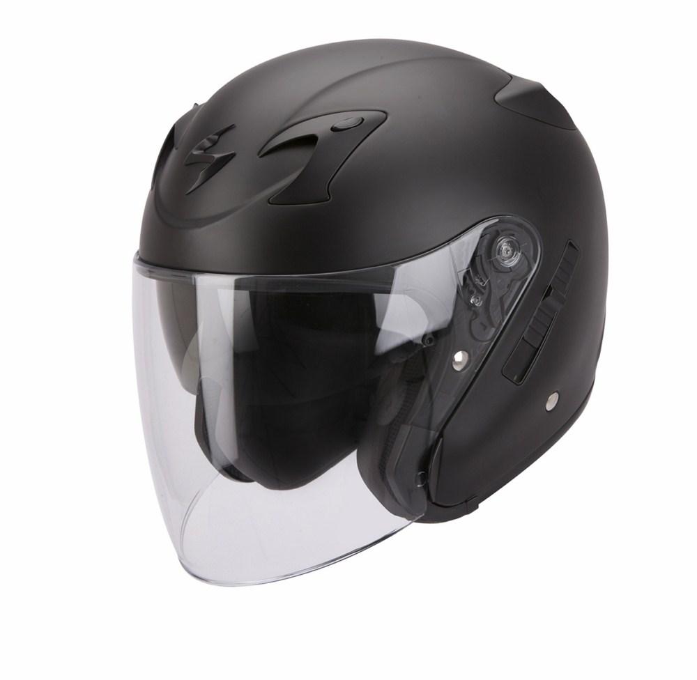 Scorpion Exo 220 Solid jet helmet matte black