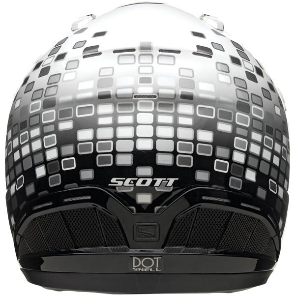 Cross helmet Scott Airborne Mosaic Grey Black