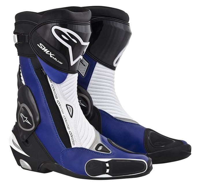 Boots Alpinestars S-MX Plus Black Blue White