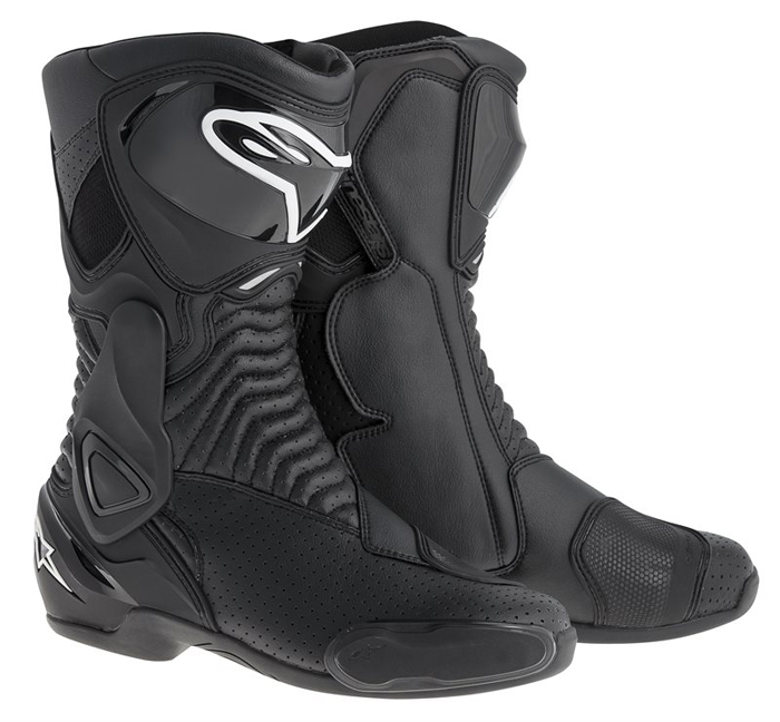 Vented Boots Alpinestars SMX 6 Black
