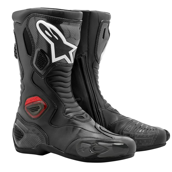 Stivali moto racing Alpinestars S-MX 5 nero RS