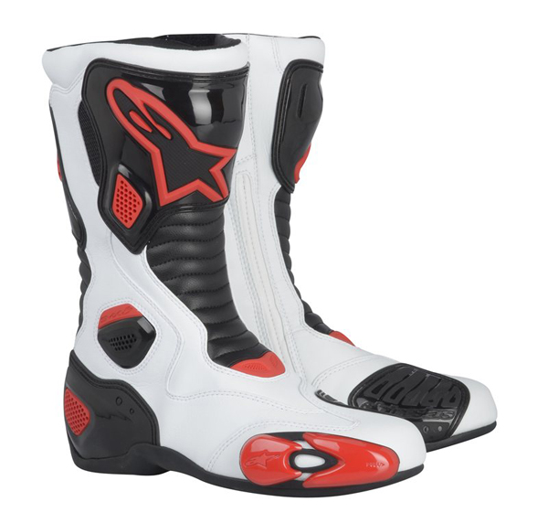 ALPINESTARS S-MX 5 racing boots col. white-blac-red