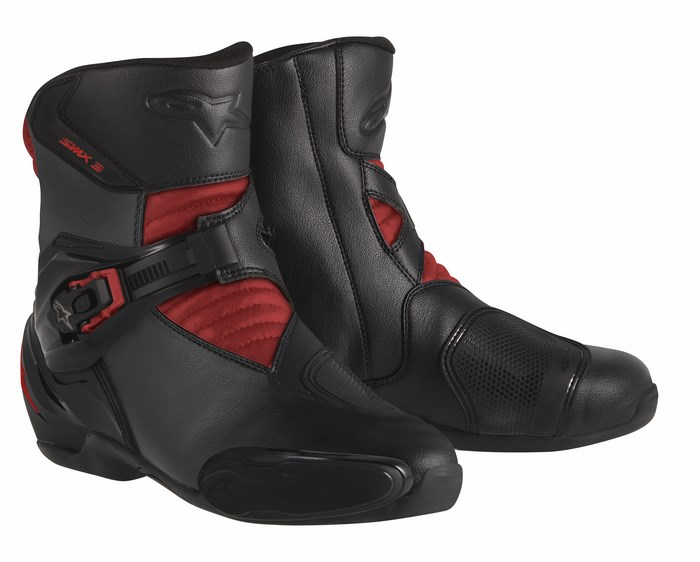 Alpinestars S-MX 3 boots  balck red