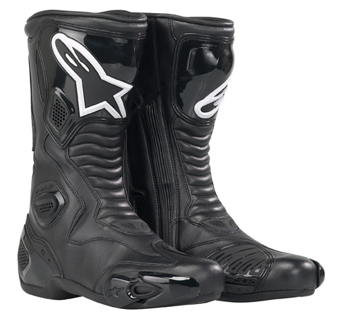 Stivali moto racing Alpinestars S-MX 5 Waterproof Nero