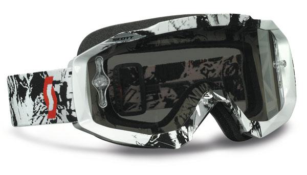 Scott Tyrant Goggles Cross Black White