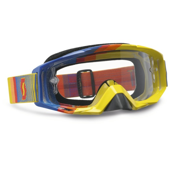 Scott Tyrant Goggles Cross Fade Yellow Blue