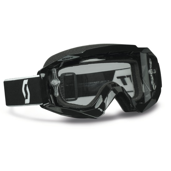 Scott Hustle MX Goggles cross Black