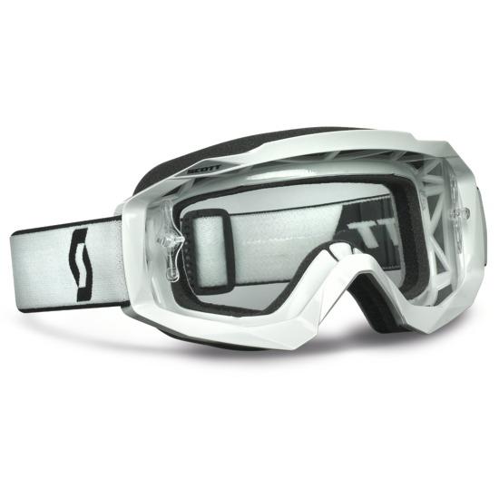 Scott Hustle MX Goggles cross White
