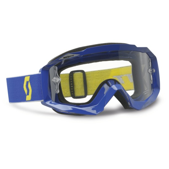 Scott Hustle MX Goggles Cross Blue