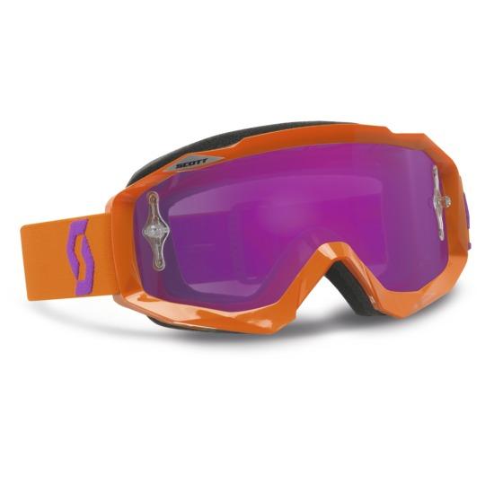 Scott Hustle MX Goggles cross Oxide Orange