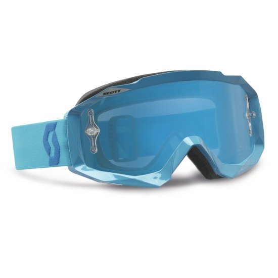 Occhiali cross Scott Hustle MX Oxide Blu